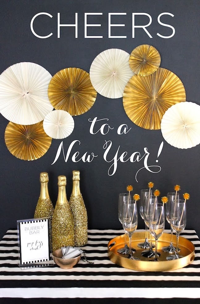 New year 39 s eve party decor ideas party decor for Decoration new year