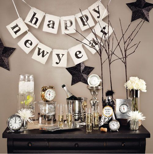 New Year's Eve Party Decor Ideas, party decor